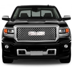 2015-2016 GMC Sierra 1500 LT Pick-up Chrome Replacement Honeycomb Grille Shell