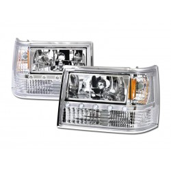 Diamond Headlamps 1993 - 1998 Jeep Cherokee