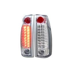 Led Chrome C-10 1988 - 1998 Chevy P/U Taillights