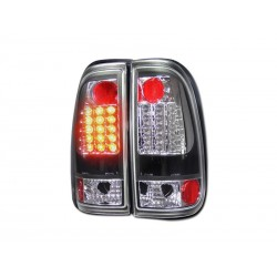 Led Black 1997 - 2003 Ford F150 Taillights