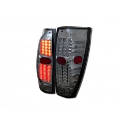 Led Smoke 2002 - 2006 Chevy Avalanche Taillights