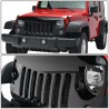 Jeep Wrangler jk 2007-2017 glossy black Angrybird grille