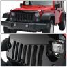 Jeep Wrangler jk 2007-2017 glossy black Angrybird grille