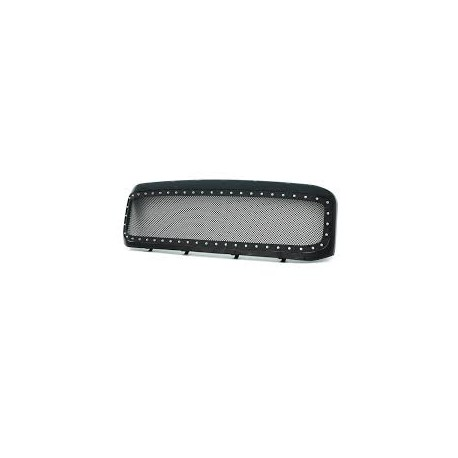 Ford F 250/350/450 super duty stainless black mesh grille replacement grille