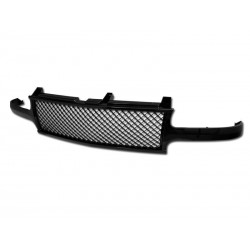Chevy  Silverado 1999-2002 /00-06 Tahoe Suburban Glossy Black Mesh abs replacement grille