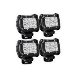Led Work Lights 2x3 18 watts 1260 Lumens set of 4