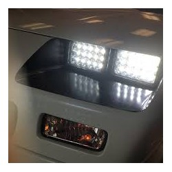 Full Face Led 4x6 Conversion Headlights high Low Beam