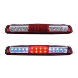 1999-2006 Chevy Silverado /Gmc Sierra Led Red Clear Third Brake light