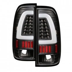 1997-2003 ford f150 led c bar halo 99-07 f250/350/450 taillights