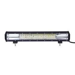 "Trucktek Premium Tri Row Led 18"" 126 Watts spot/flood lightbar"