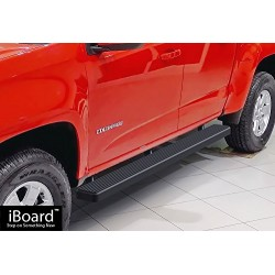 "2015-2017 Chevy Colorado 5"" black running boards crew cab 4dr"