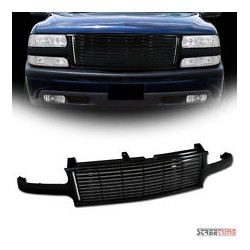 1999-2002 Chevy Silverado black horizontal grille  replacement