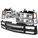 Chevy C-10 1994-1998 Tahoe Suburban Headlight and Grille conversion