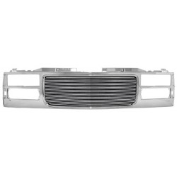 1994-1998 Gmc c-10 yukon suburban  grille with 4mm billet aliminum grile