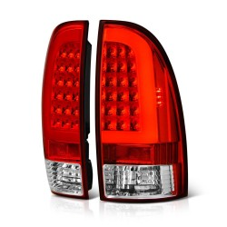 2005-2015 Toyota Tacoma Led C bar red clear  taillights