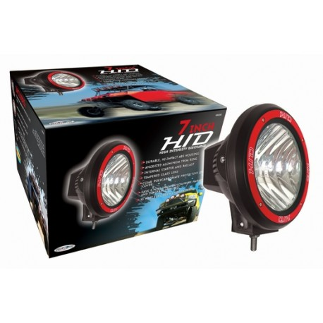 "Hid 4"" Round fog lights pair 6000k color"