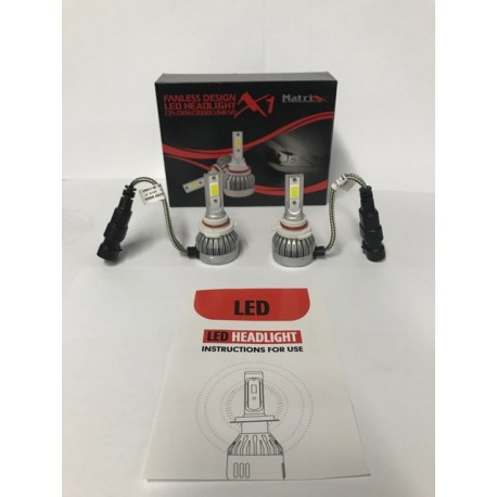 LED Headlight bulbs H-16/5202 30 watts  low beam fanless all in one