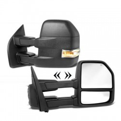 2015-2017 FORD F150 POWER TOWING MIRRORS WITH TURN SIGNAL