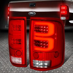 Ford F150 2004-2008 Led 2 c bar red clear taillights