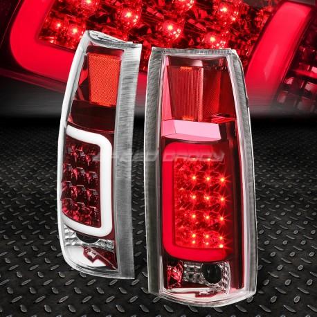 1988-1999 Chevy 1500 Pick up Tahoe silverado suburban gmc yukon sierra red c bar taillights