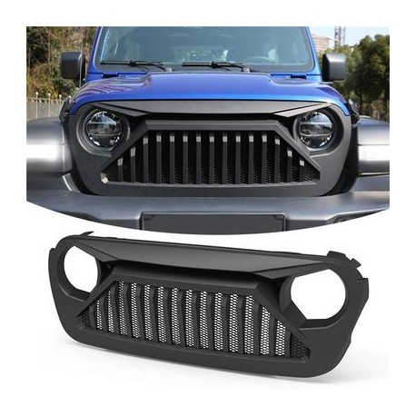 JEEP JL WRANGLER 2018-2019 ANGRYBIRD GRILLE REPLACEMENT