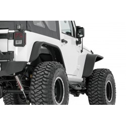 JEEP JK WRANGLER TUBULAR STEEL FENDER FLARES SET OF 4