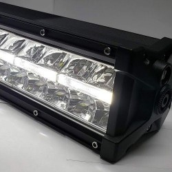 "7.5"" led light bar with drl lights 36 watts"