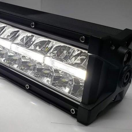 "7.5"" led light bar with drl lights 36 watts"