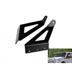 "50"" Curved led bar bracket mount 1999-2015 Ford F250/350/450 Super Duty Lariat FX4 Harley 756"
