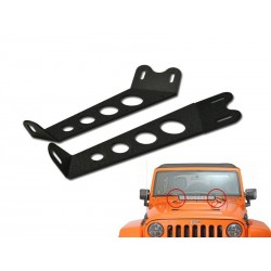 "20"" Hood scoop bracket 2007-13 Jeep JK Wrangler"