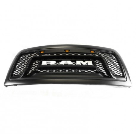 2010-2018 Dodge Ram 2500/3500 BIG HORN style grille  replacement grille shell black