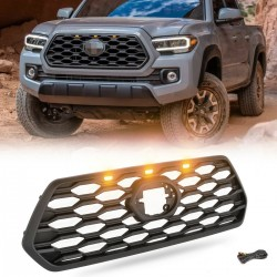 2016-2020 TOYOTA TACOMA HONEYCOMB GRILLE WITH LOGO SHOW AND LED LIGHTS