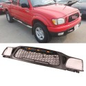 2001-2003 TOYOTA PICK UP TACOMA MESH GRILLE WITH DRL LIGHTS AMBER