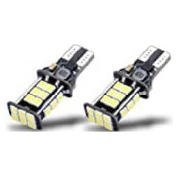LED T-15 BULBS HIGH POWER 24 SMD CHIPS 6500K