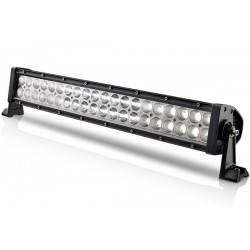 "22.5"" 120 Watts Cree Led Double Row Light Bar 40 Leds 6000K 8400 Lumens Combo Spot/Flood 12V"