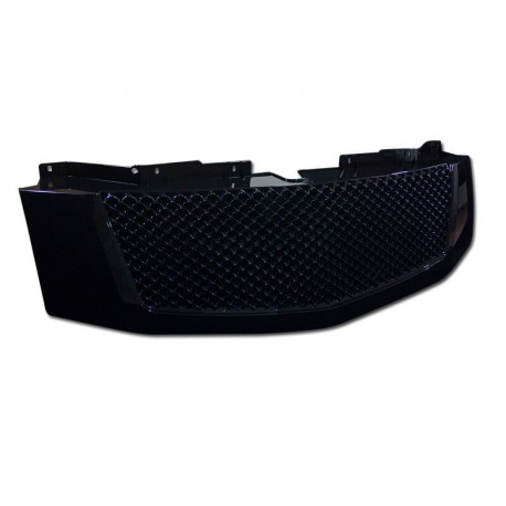 Black Mesh Grille 2007-2012 Cadillac Escalade Replacement Shell ABS