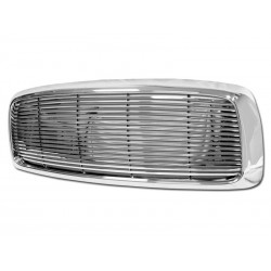 Billet Style ABS Grill 2002-05 Dodge Ram Horizontal Replacement Shell