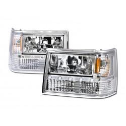 Diamond Headlamps 1993 - 1998 Jeep Cherokee