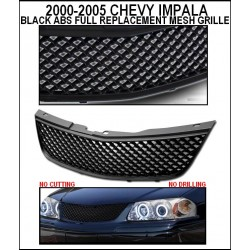 Black Mesh Shell 2000 - 2005 Chevy Impala ABS Replacement
