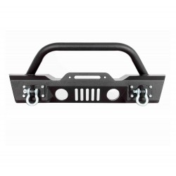 Jeep Wrangler Jk 2007-2017 Front bumper with tow hooks