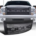 Ford F 150 2009-2014 Black Raptor Style Glossy Black Grille
