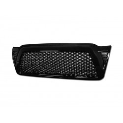 Toyota Tacoma 2005-2010 Black Glossy Mesh Grille Shell Replacement