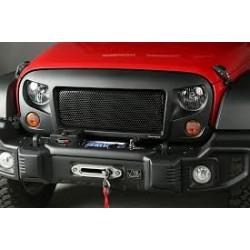 Jeep Wrangler jk 2007-2017  Black Mesh Grille