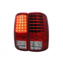 2000-2006 led red clear chevy tahoe suburban taillights