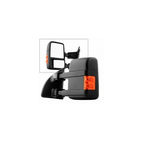 Power Towing Mirrors 2015 Style 2008-2016 Ford F250/350 Super Duty