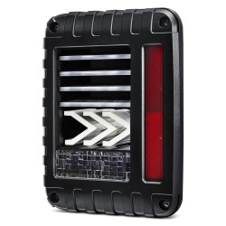 New jeep jk wrangler 2007-2017 led fiber optic taillights