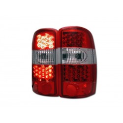 Led Taillights 2000-2006 chevy tahoe suburban gmc yukon red clear