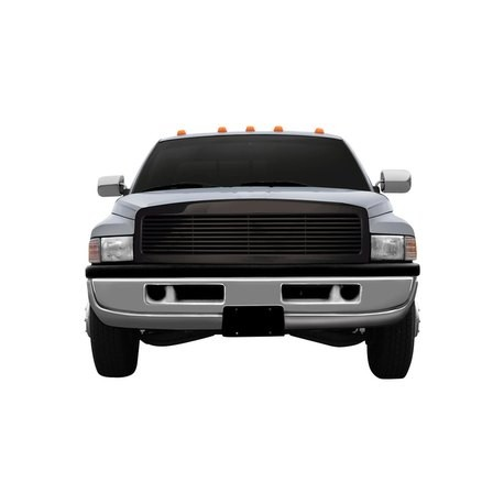 1994-2001 Dodge Ram 1500/2500 black horizontal grille shell replacement