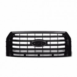 2014-2016 Ford F 150 Black grille shell with mesh style