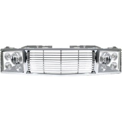 Chevy C-10 88-98 Headlight and Grille chrome conversion
